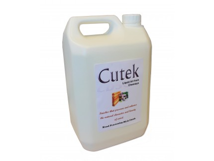 Cutek Oil (5lt) - clear