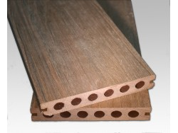Hollow Co Extrusion Decking - Chestnut brown