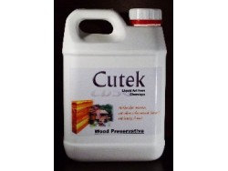 Cutek oil 2.5lt - clear