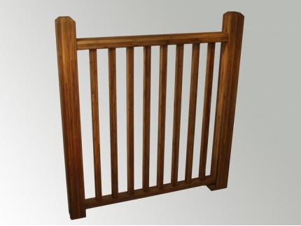 Bamboo Balustrade 01