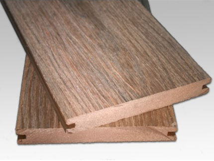 Solid Co Extrusion Decking - Chestnut Brown