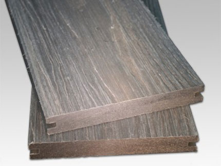 Solid Co Extrusion Decking - Stone Grey