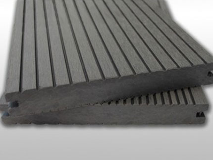 Solid WPC Composite Decking - Stone